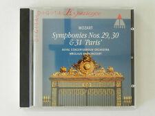 CD Mozart Symphonies Nos 29 30 31 Paris Royal Concertgebouw Orchest Harnoncourt