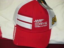 """JEFF GORDON """"TRUCKERS"""" SNAPBACK HAT $25 BY THE GAME RED & WHITE MESH BACK COOL"""