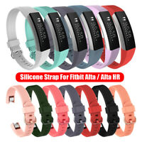 Soft Wristbands for Fitbit Alta / Alta HR Bracelet Strap Silicone Watch Band