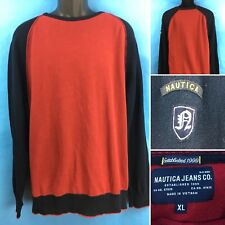 Nautica Crewneck Sweater Red/Blue Size XL~FREE SHIPPING!!