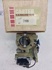 NOS CARTER YFA CARBURETOR 7186S 1976 FORD CARS 200-250 ENGINE