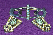 Rhinestone Glass Vintage Costume Jewellery without Theme