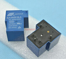 5pcs Power relay Songle SLA-24VDC-SL-A SPST 30A load 24V coil