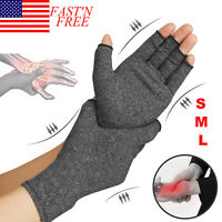 Compression Gloves Brace Support Medical Therapy Relief Carpal Pain Joint Pain