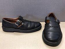 Josef Seibel Leather Sandals Shoes Womens Size 39 Black US 8.5 Strap Slip On