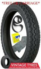 410-19 4.10x19 DUNLOP TT100 K81 MOTORCYCLE TYRE, MICHELIN TUBE AND RIMBAND