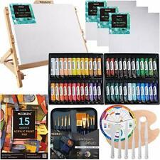 Conjunto De Pintura Meeden perfecto para principiantes con caballete de mesa madera de haya, 48×22ML