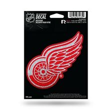 Detroit Red Wings Vinyl Glitter Bling Decal [NEW] Car Sticker Emblem Rico