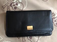 TIGNANELLO Black Soft Genuine LEATHER  WALLET  NWT