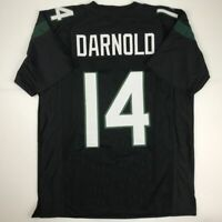 New SAM DARNOLD New York 2019 Black Custom Stitched Football Jersey Size Mens XL