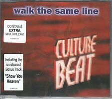 CULTURE BEAT  CD-SINGLE   WALK THE SAME LINE  ( BONUS TRACK)