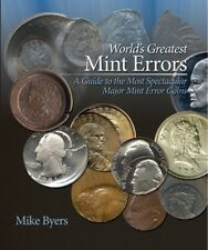 World's Greatest Mint Errors New Coin Collector Gift Book Us & World w/ Value