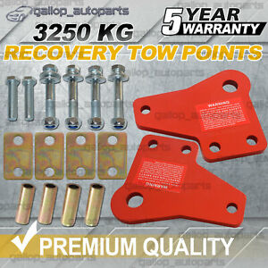 RECOVERY TOW POINTS FOR TOYOTA HILUX SR5 N70 KUN26 2005-2015 3250KG HEAVY DUTY