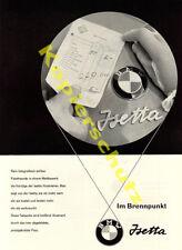La pubblicità BMW Isetta ROLLER mobile utilitarie DESIGN AUTO BENZINA ARAL Monaco 1957