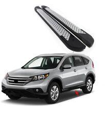 Kit 2 pedane laterali sottoporta in alluminio Honda CR-V 4 2012- *