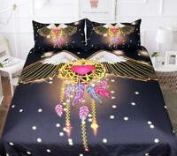 3D Angel Wings Love Feather KEP5456 Bed Pillowcases Quilt Duvet Cover Kay