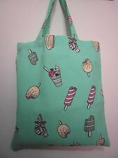 Cotton Canvas Tote Shopping Handbag Shoulder Cute Bag Women Girls Purse-Food2