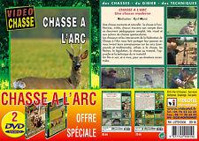 Lot 2 DVD Chasse à l'arc : chasse moderne & techniques de chevreuil