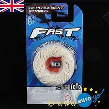 Yoyofactory rapide blanc yo-yo cordes Pre-tied adapté à tous les Yoyo Pack de 10