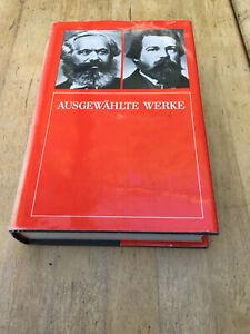 Karl Marx und F. Engels-Ausgewählte Werke,Gebundene Ausgabe 1987,Gondrom Verlag