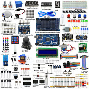 New Ultimate Starter learning Kit for Arduino MEGA 2560 LCD1602 Servo Motor