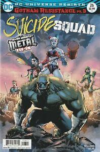 SUICIDE SQUAD #26 DC COMICS 2017 DARK NIGHTS METAL VARIANT COVER