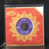 "Nat King Cole / Stan Kenton - My Love / Steady 7"" VG+ 4393 Capitol Vinyl 45"
