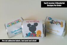 30 MICKEY MOUSE CLUBHOUSE BIRTHDAY PARTY FAVORS HERSHEY NUGGET LABELS FAVOR