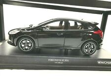 1/18 MINICHAMPS - FORD FOCUS ST 2011 BLACK - LIMITED EDITION - NEW