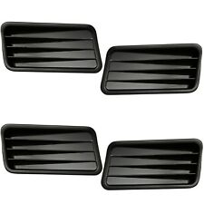 1967 Ford Mustang Quarter Panel Ornaments Left & Right 4 Pieces Set - M3514A