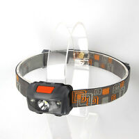 Super Bright 500LM Mini Headlight 3x R3 +2 Red LED Headlamp Head Torch Lamp