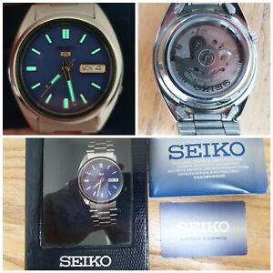 Seiko 5 Automatic Day/Date Watch