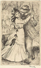 Renoir Reproductions: Dancing in the Country - Fine Art Print