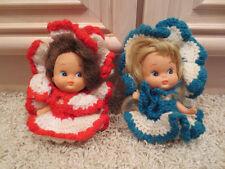 2 Vintage Antique Toy Dolls