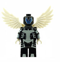 Custom Designed Minifigure - Archangel Superhero - Printed on LEGO Parts
