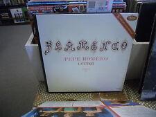 Pepe Romero Flamenco! Guitar vinyl LP Mercury Records EX 1963 MONO MG50297