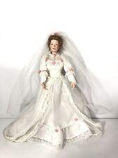 porcelain Bride doll by Sandra Bilotto for Ashton Drake Galleries