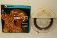 Working Latin Heat Latin Beat Charlie Fox Orchestra 7 1/2 ips Reel to Reel Tape