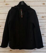 Hawke 3 In 1 Systems Black Jacket Men's Medium, NWT