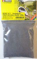 (9,96€/kg) NOCH 09165 Profi-Schotter, dunkelgrau, Basalt, N / Z, 250 g, Neu