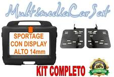 MASCHERINA KIT AUTORADIO MAZDA CX7 DA 2010 DOPPIO ANTRACITE 03604 DISPLAY 14