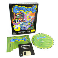 Creepers for PC by Psygnosis, Big Box, 1993, Puzzle-Solving, Strategy, CIB, VGC