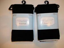 Carole Hochman SEMPLICE LUSSO 4 PAIA vestito nero Pantaloni Calzini Donna