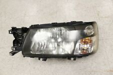 JDM Subaru Forester SG5 SG9 OEM LH Headlight HID Black-Housing  02-06 Head Lamp