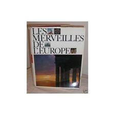 LES MERVEILLES DE L'EUROPE illustration Photo Préface de Salvador MADARIAGA 1963