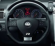 2x Volkswagen R-line Steering Wheel sticker Badge Emblem Logo Passat Golf CC