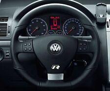 2x Volkswagen R-line Steering Wheel sticker Badge Emblem Logo Passat Golf CC