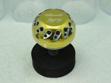 UJ 45mm Reel Knob for Shimano Stella Saragosa 10k-25k Reels in Pale-Gold/Silver