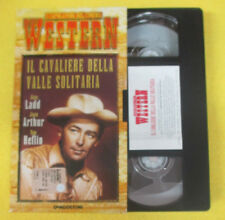 VHS film IL CAVALIERE DELLA VALLE SOLITARIA 2001 WESTERN DE AGOSTINI(F107)no dvd
