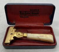 Vintage Schick Injector Safety Razor w/ Original Box